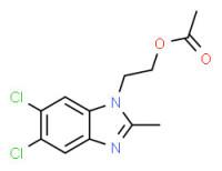 (5,6-dichloro-2-methylbenzimidazol-1-yl)-ethyl acetate