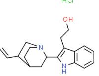 [1S-(1a,2a,4a,5ß)]-2-(5-vinyl-1-azabicyclo[2.2.2]oct-2-yl)-1H-indole-3-ethanol monohydrochloride