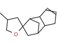 1,3'a,4,4',5,6',7',7'a-octahydro-4-methylspiro[furan-2(3H),5'-[4,7]methano[5H]indene]