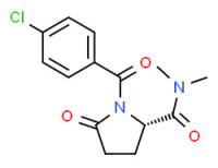 (S)-1-(4-chlorobenzoyl)-N,N-dimethyl-5-oxopyrrolidine-2-carboxamide