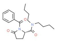(S)-1-benzoyl-N,N-dibutyl-5-oxopyrrolidine-2-carboxamide