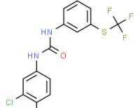 1-(3,4-dichlorophenyl)-3-[3-[(trifluoromethyl)thio]phenyl]urea