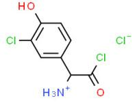 (R)-[2-chloro-1-(3-chloro-4-hydroxyphenyl)-2-oxoethyl]ammonium chloride
