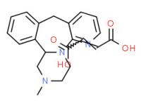(±)-1,2,3,4,10,14b-hexahydro-2-methylpyrazino[2,1-a]pyrido[2,3-c][2]benzazepine maleate (1:1)