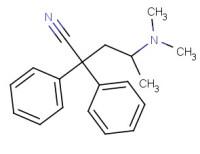 (±)-4-(dimethylamino)-2,2-diphenylpentanonitrile