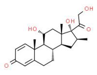 11a,17,21-trihydroxy-16ß-methylpregna-1,4-diene-3,20-dione