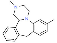 (±)-1,2,3,4,10,14b-hexahydro-2,7-dimethyldibenzo[c,f]pyrazino[1,2-a]azepine