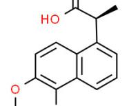 (S)-5-bromo-6-methoxy-a-methylnaphthalene-1-acetic acid