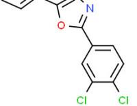 2-(3,4-dichlorophenyl)-5-phenyloxazole