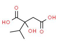 (S)-2-hydroxy-2-(isopropyl)succinic acid