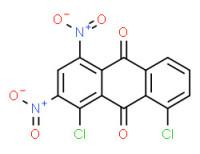 1,8-dichloro-4,-dinitroanthraquinone