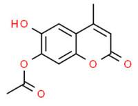 [(6-hydroxy-4-methyl-2-oxo-2H-1-benzopyran-7-yl)oxy]acetic acid