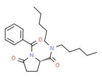 (S)-1-benzoyl-5-oxo-N,N-dipentylpyrrolidine-2-carboxamide