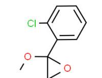 2-(2-chlorophenyl)-2-methoxy-1-oxaspiro[2.4]heptane
