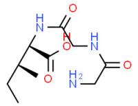 2-[[2-[(2-aminoacetyl)amino]acetyl]amino]-3-methylpentanoic acid