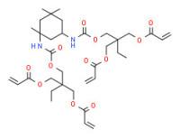 2-[[[[[3-[[[2,2-bis[[(1-oxoallyl)oxy]methyl]butoxy]carbonyl]amino]-3,5,5-trimethylcyclohexyl]amino]carbonyl]oxy]methyl]-2-ethylpropane-1,3-diyl diacrylate