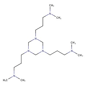1,3,5-Tris[3-(dimethylamino)propyl]hexahydro1,3,5-triazine