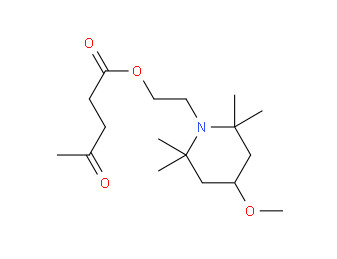 1-(2-hydroxyethyl)-4-hydroxy-2,2,6,6-tetramethyl piperidinesuccinic acid