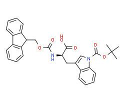 (2R)-2-(9H-fluoren-9-ylmethoxycarbonylamino)-3-[1-[(2-methylpropan-2-yl)oxycarbonyl]indol-3-yl]propanoic acid