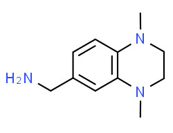 (1,4-dimethyl-2,3-dihydroquinoxalin-6-yl)methanamine