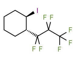 (1S,2R)-1-(1,1,2,2,3,3,3-heptafluoropropyl)-2-iodocyclohexane