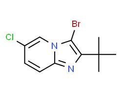 3-bromo-2-tert-butyl-6-chloroimidazo[1,2-a]pyridine