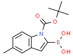 (1-(tert-Butoxycarbonyl)-5-methyl-1H-indol-2-yl)boronic acid