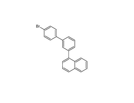 1-[3-(4-bromophenyl)phenyl]naphthalene