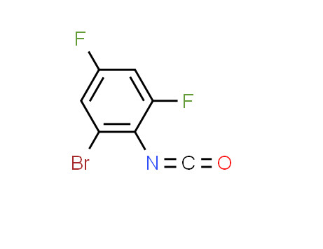 1-bromo-3,5-difluoro-2-isocyanatobenzene