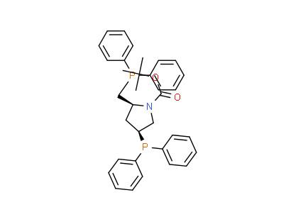 (2S,4S)-(-)-N-BOC-4-Diphenylphosphino-2-diphenylphosphinomethyl-pyrrolidine