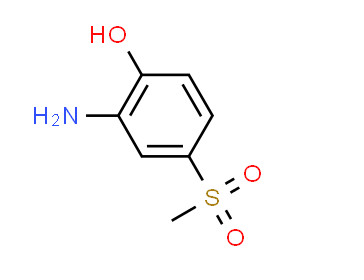 3-Amino-4-hydroxyphenyl Methyl Sulfone