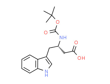 (3S)-4-(1H-indol-3-yl)-3-[(2-methylpropan-2-yl)oxycarbonylamino]butanoic acid