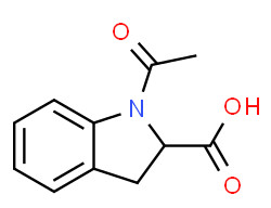 1H-Indole-2-carboxylic acid, 1-acetyl-2,3-dihydro-