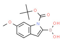(1-(tert-Butoxycarbonyl)-6-methoxy-1H-indol-2-yl)boronic acid