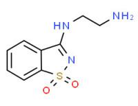 N-*1*-(1,1-Dioxo-1H-1lambda*6*-benzo[d]isothiazol-3-yl)-ethane-1,2-diamine