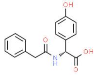(R)-(4-hydroxyphenyl)(phenylacetamido)acetic acid