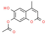 [(6-hydroxy-4-methyl-2-oxo-2H-1-benzopyran-7-yl)oxy]acetic acid