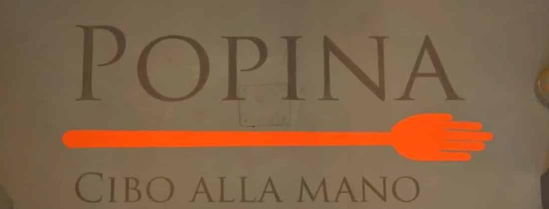 POPINA – CIBO ALLA MANO – ROMA