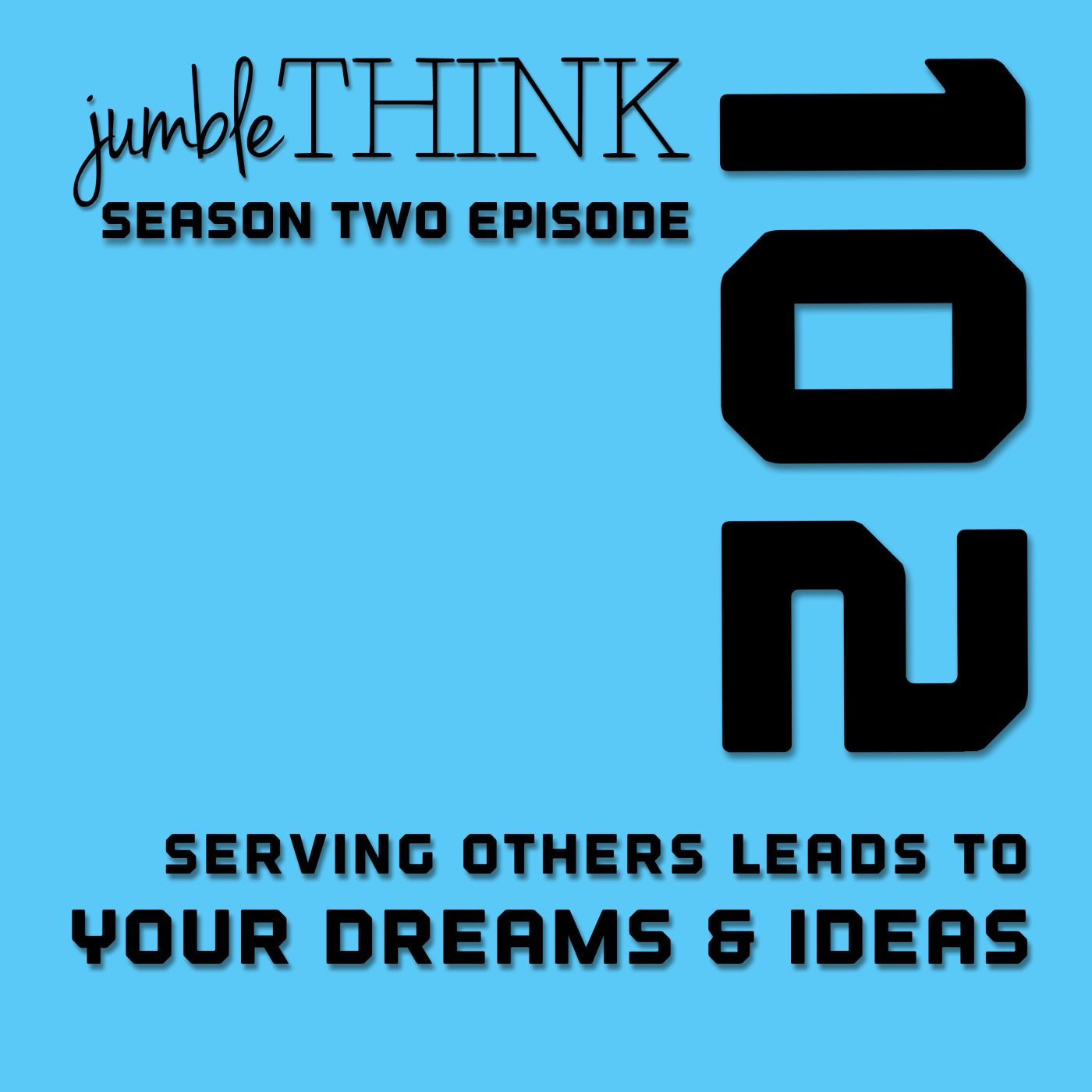Serving others leads to your dreams & ideas with Michael Woodward