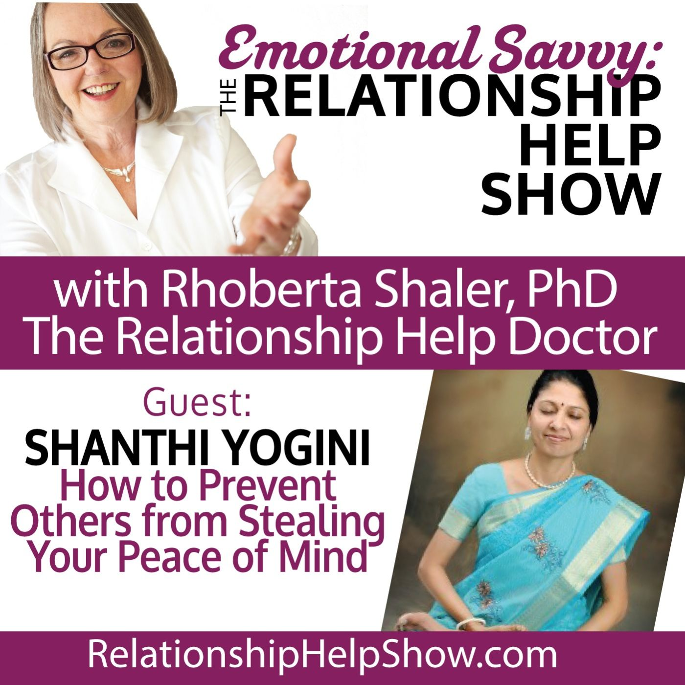 How to Prevent Others from Stealing Your Peace of Mind. GUEST - Shanthi Yogini