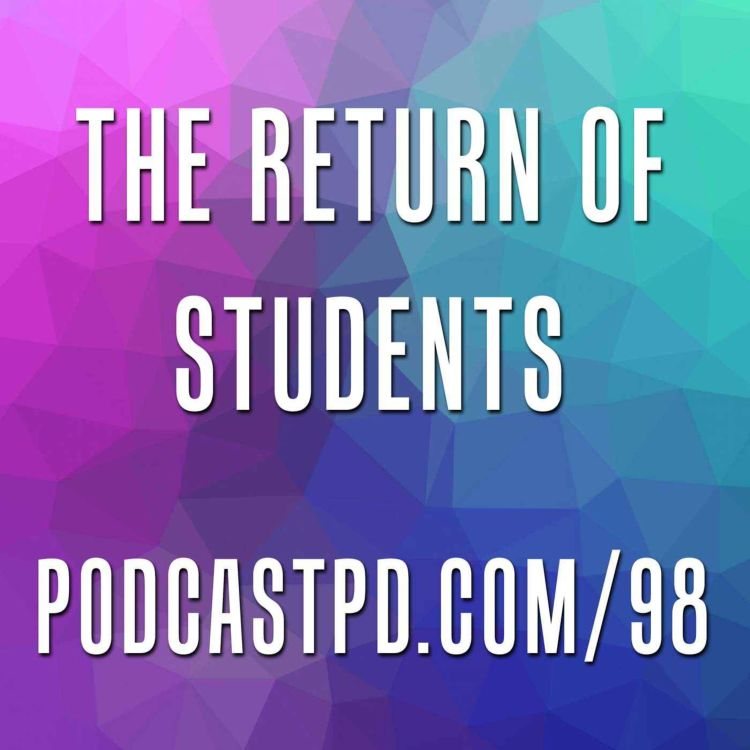 cover art for The Return of Students - PPD098