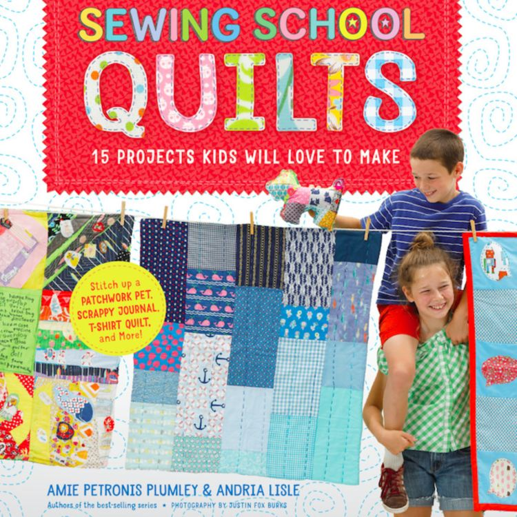 cover art for Sewing School Quilts