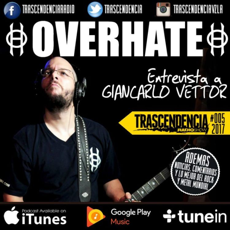 cover art for Entrevista a Giancarlo Vettor (OVERHATE)