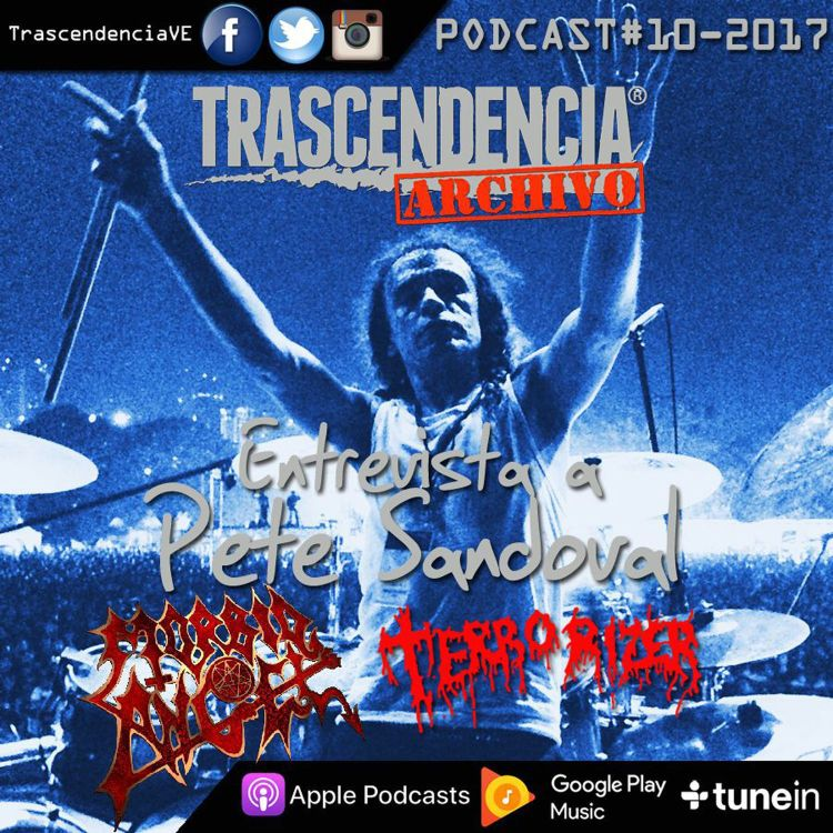 cover art for ARCHIVO Entrevista a PETE SANDOVAL (MORBID ANGEL / TERRORIZER