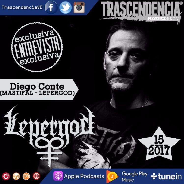cover art for Entrevistamos a Diego Conte (LEPERGOD/MASTIFAL)