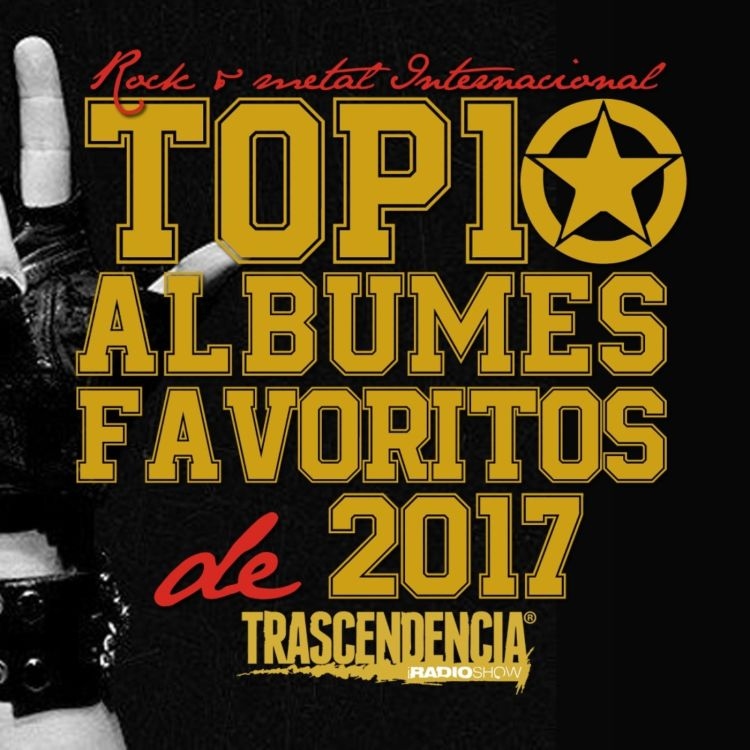 cover art for Los mejores discos internacionales de rock y metal de 2017