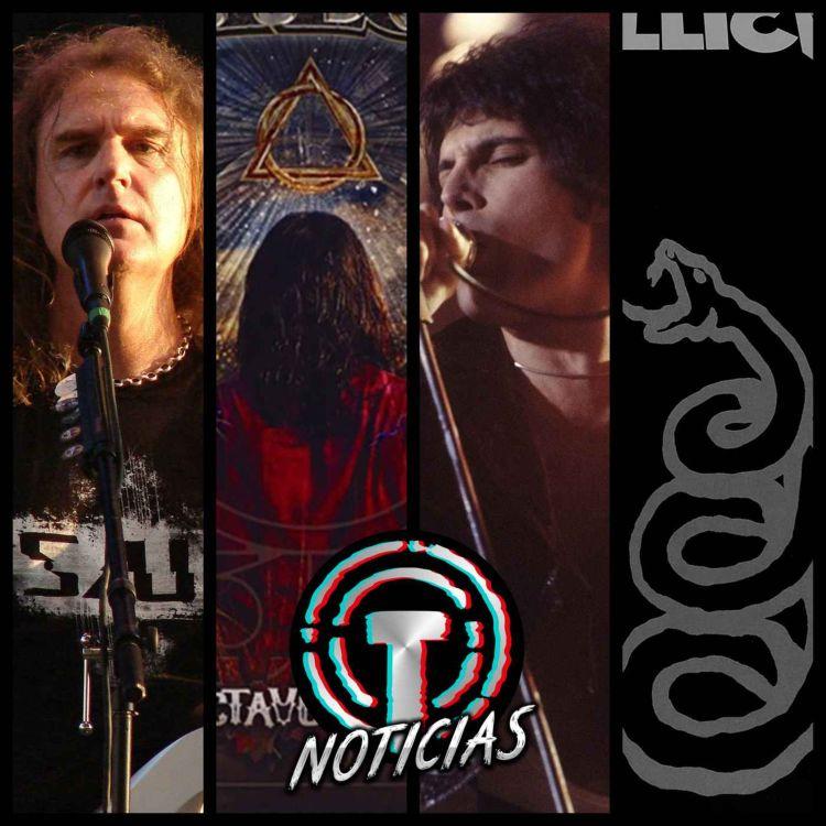cover art for DAVID ELLEFSON expulsado de Megadeth 😱 METALLICA reedita el black album 🔥