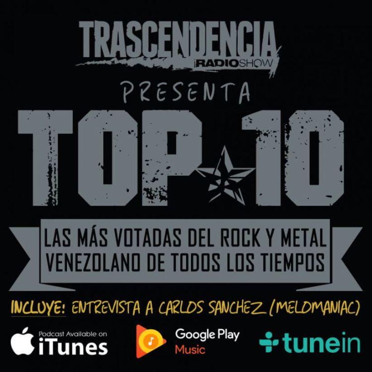 cover art for Las 10 mejores del ROCK & METAL VENEZOLANO