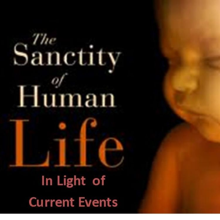 cover art for 074 - The Sanctity of Human Life in Light of Current Events
