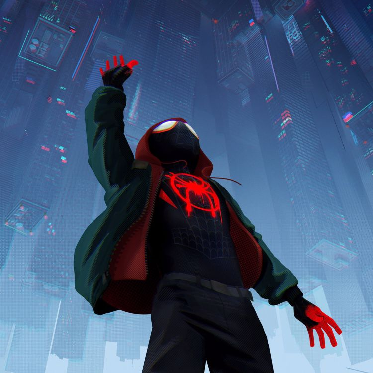 cover art for 34 Spider-Man Into the Spider-Verse
